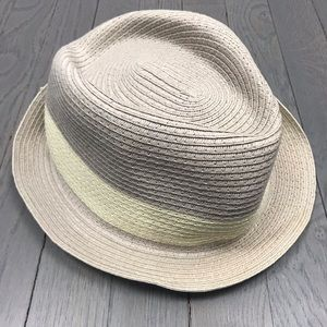 Other - Men's Fedora Vacation Beach Stripe Hat One Size